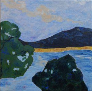 paysage marin petit format carré