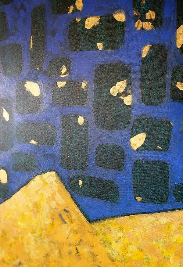 détail tableau dunes étoilées